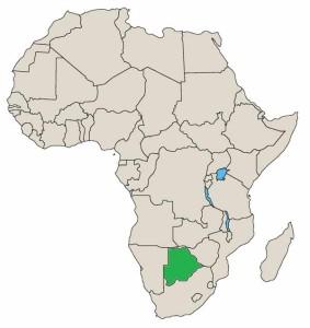 kalahariørkenen kart Botswana – Ditt Afrika kalahariørkenen kart