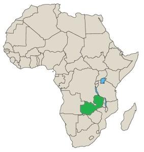 kart zambia Zambia – Ditt Afrika kart zambia